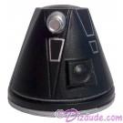R4 Black Astromech Droid Dome ~ Series 2 from Disney Star Wars Build-A-Droid Factory © Dizdude.com