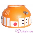 R8 Orange Astromech Droid Dome ~ Series 2 from Disney Star Wars Build-A-Droid Factory © Dizdude.com