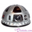 R9 Silver and Black Astromech Droid Dome ~ Series 2 from Disney Star Wars Build-A-Droid Factory © Dizdude.com