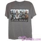 Vintage Bounty Hunters Adult T-Shirt (Tshirt, T shirt or Tee) - Star Wars © Dizdude.com