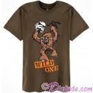Vintage Chewbacca Wild One Adult T-Shirt (Tshirt, T shirt or Tee) © Dizdude.com