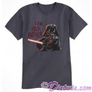 Darth Vader I Am Your Father Adult T-Shirt (Tshirt, T shirt or Tee) - Disney's Star Wars © Dizdude.com