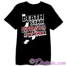 VintageStar Wars Death Star Destroyed My Homework Youth T-Shirt (Tshirt, T shirt or Tee) © Dizdude.com