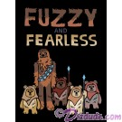 Star Wars Fuzzy & Fearless Toddler T-Shirt (Tshirt, T shirt or Tee) © Dizdude.com