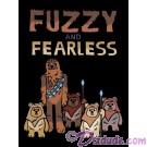 Star Wars Fuzzy & Fearless Toddler T-Shirt (Tshirt, T shirt or Tee) © Dizdude.com