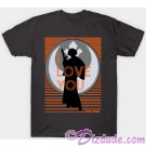 Vintage Star Wars Princess Leia I Love You Adult Companion T-Shirt (Tshirt, T shirt or Tee) © Dizdude.com