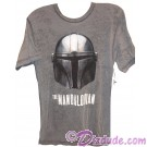 Disney Star Wars The Mandalorian Helmet Adult T-Shirt (Tshirt, T shirt or Tee) © Dizdude.com