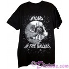 Vintage Star Wars Number 1 Dad In The Galaxy Adult T-Shirt (Tshirt, T shirt or Tee) © Dizdude.com
