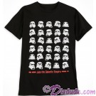 Disney Star Wars Stormtrooper Helmet Adult T-Shirt (Tshirt, T shirt or Tee) © Dizdude.com