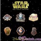 Star Wars The Force Awakens 6 Pin Booster Set © Dizdude.com