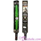 Disney Star Wars Luke Skywalker Green Lightsaber with Battle Clash Rumble Feature and Lights & Sound © Dizdude.com