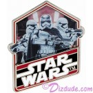 Star Wars The Force Awakens - Captain Phasma Countdown Pin # 9 Limited Edition 10,000 © Dizdude.com