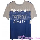 Disney Star Wars Where You AT-AT? Adult T-Shirt (Tshirt, T shirt or Tee) © Dizdude.com