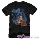 Star Wars Vintage Art Adult T-Shirt (Tshirt, T shirt or Tee) © Dizdude.com