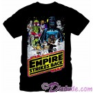 Star Wars Empire Strikes Back Hoth Poster Adult T-Shirt (Tshirt, T shirt or Tee) © Dizdude.com