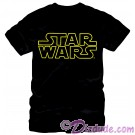 Star Wars Title Logo Adult T-Shirt (Tshirt, T shirt or Tee) © Dizdude.com