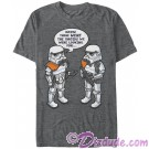 Star Wars Stormtrooper Confusion Adult T-Shirt (Tshirt, T shirt or Tee) © Dizdude.com