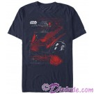Star Wars The Last Jedi Kylo Ren's TIE Silencer Adult T-Shirt (Tshirt, T shirt or Tee) © Dizdude.com