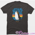 Star Wars: The Last Jedi Retro Porg Adult T-Shirt (T-Shirt, Tshirt, T shirt or Tee) © Dizdude.com