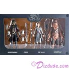 Star Wars Galaxy's Edge The Black Series Smuggler's Run Set with Hondo Ohnaka, Rey, Chewbacca and Porgs