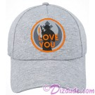 Disney Star Wars Princess Leia I Love You Companion Baseball Hat © Dizdude.com