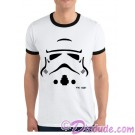 Star Wars Stormtrooper TK 421 Adult Ringer T-shirt (Tshirt, T shirt or Tee) © Dizdude.com