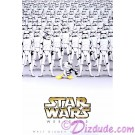 Disney Star Wars Weekends 2008 Event Logo Poster - Stormtrooper Donald Duck & Stormtroopers © Dizdude.com