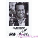 Dee Bradley Baker the voice of Captain Rex Presigned Official Star Wars Weekends 2011 Celebrity Collector Photo © Dizdude.com