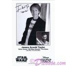 James Arnold Taylor (JAT) the voice of Obi-Wan Kanobi & Plo Koon Presigned Official Star Wars Weekends 2011 Celebrity Collector Photo © Dizdude.com