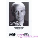 Jeremy Bulloch who played Boba Fett Presigned Official Star Wars Weekends 2011 Celebrity Collector Photo © Dizdude.com