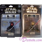 2 very rare triple autographed Star Wars Weekends 2013 Action Figures (last set - one has bend in card) ~ ©Dizdude.com