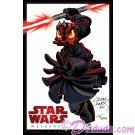 Disney artist double autographed Star Wars Weekends 2012 event logo Donald Darth Maul poster © Dizdude.com