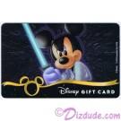 Star Wars Gift Card with Mickey Mouse as Luke Skywalker ~ Disney Star Wars Weekends 2013 © Dizdude.com