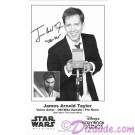James Arnold Taylor (JAT) the voice of Obi-Wan Kanobi & Plo Koon Presigned Official Star Wars Weekends 2014 Celebrity Collector Photo © Dizdude.com