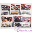 "Triple Autographed Disney Pixar ""Cars"" as LucasFilms ""Star Wars"" Characters - Series 2 ~ Complete Set of 8 ~ Exclusive Star Wars Weekends 2014 © Dizdude.com"
