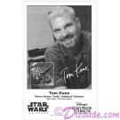 Tom Kane the voice of Yoda & Admiral Yularen Presigned Official Star Wars Weekends 2014 Celebrity Collector Photo © Dizdude.com