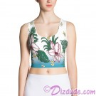 Tropical Collection All Over Print Ladies Crop Top © Hippieworks