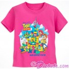 Disney's Toy Story Land Toddler Character T-Shirt (Tee, Tshirt or T shirt)