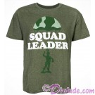 Disney's Toy Story Land Green Soldier - Squad Leader Adult T-Shirt (Tee, Tshirt or T shirt)