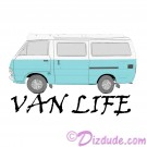 Van Life T-Shirt or Tank Top (Tshirt, T shirt or Tee) © HIPPIEWORKS