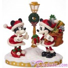 Disney Turn of the Century Mickey and Minnie Light Up Figurine © Dizdude.com