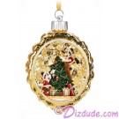 Disney Turn of the Century Mickey and Minnie Light Up Christmas Ornament © Dizdude.com