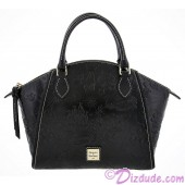 Disney Dooney & Bourke Black Leather Sketch Large Satchel © Dizdude.com