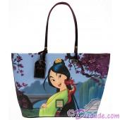 Dooney & Bourke - Disney Mulan 20th Anniversary Tote ~ Dream Big Princess Collection © Dizdude.com