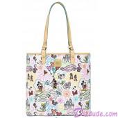 Dooney & Bourke Sketch Large Tote handbag - Disney World Exclusive © Dizdude.com
