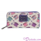 Alice in Wonderland Mad Tea Party Wallet by Loungefly - Disney Parks © Dizdude.com
