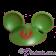 Green Mickey Mouse Ears Hat Part ~ Disney Star Wars Astromech Build-A-Droid Factory © Dizdude.com
