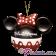 Disney Minnie Mouse Ears Christmas Tree Ornament © Dizdude.com
