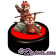 Chip 'N' Dale as Ewoks Medium Big Fig with pin LE 1977 ~ Disney Star Wars Weekends 2014 (This is a Star Wars Weekends 2014 exclusive item and not available elsewhere. Pardon the copy right on our picture. Its there to protect our picture) © Dizdude.com
