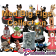Collection of the 14 Disney Medium Big Fig Star Wars Weekends Commemorative Sculptures ~ all 14 with pins Limited Edition 1977